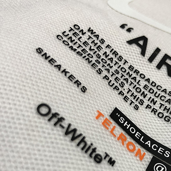 3D Thick Raised Heat Transfer Labels